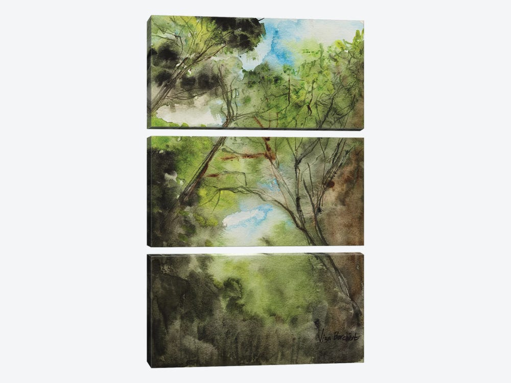 The Woods by Vian Borchert 3-piece Art Print