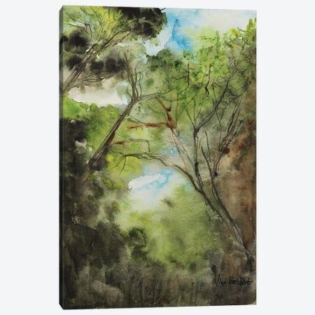 The Woods Canvas Print #VNB31} by Vian Borchert Art Print
