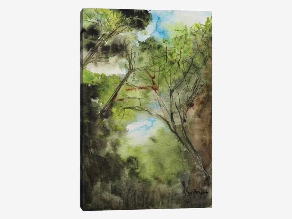 The Woods by Vian Borchert 1-piece Canvas Art Print