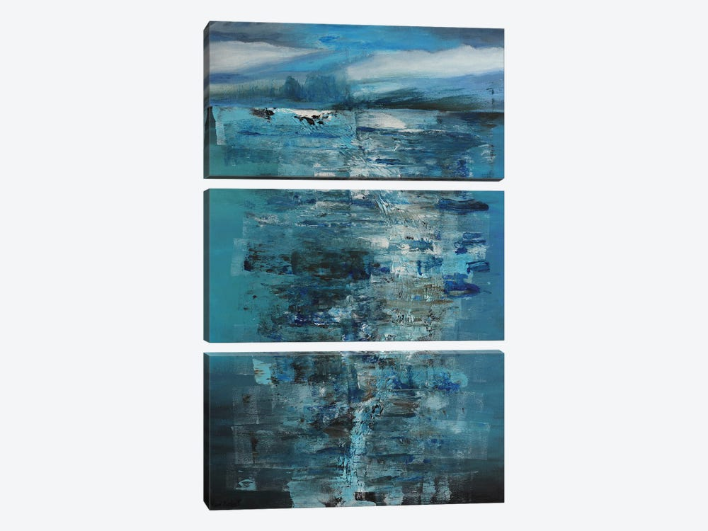 Water by Vian Borchert 3-piece Canvas Print