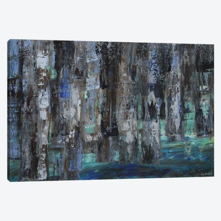 Woods Canvas Print #VNB35} by Vian Borchert Canvas Art