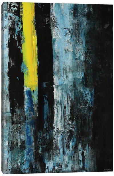 Yellow Line Canvas Art Print