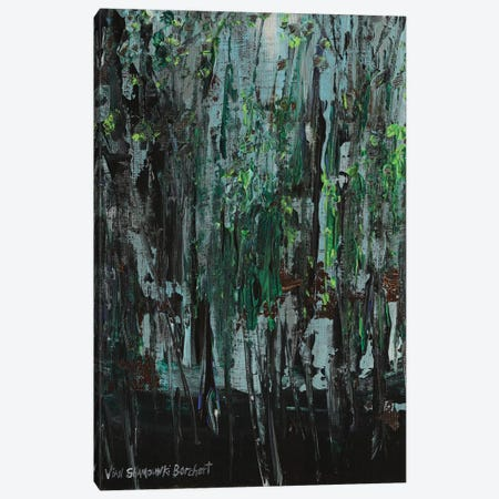 Deep Woods Canvas Print #VNB42} by Vian Borchert Canvas Wall Art