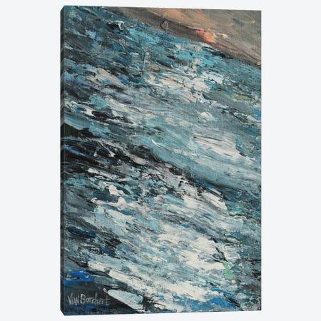 Falling Sunset 3-Piece Canvas #VNB43} by Vian Borchert Canvas Wall Art