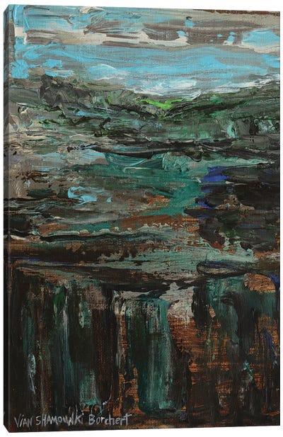 Green Landscape Canvas Art Print