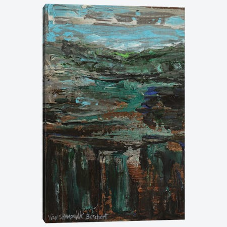 Green Landscape Canvas Print #VNB44} by Vian Borchert Canvas Print