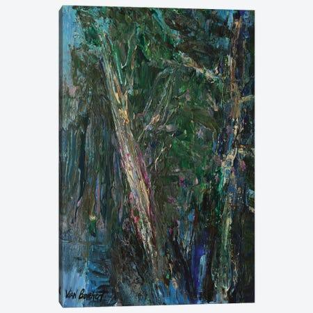Green Woods Canvas Print #VNB45} by Vian Borchert Canvas Print