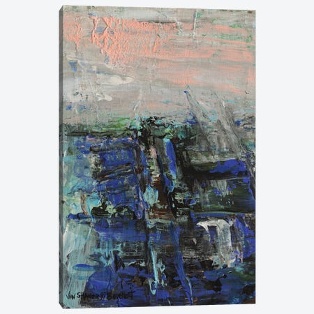 Industrial Abstract Canvas Print #VNB46} by Vian Borchert Canvas Art Print