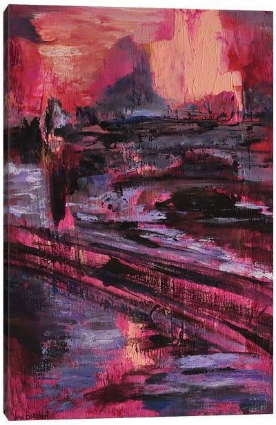 London Times Canvas Art Print