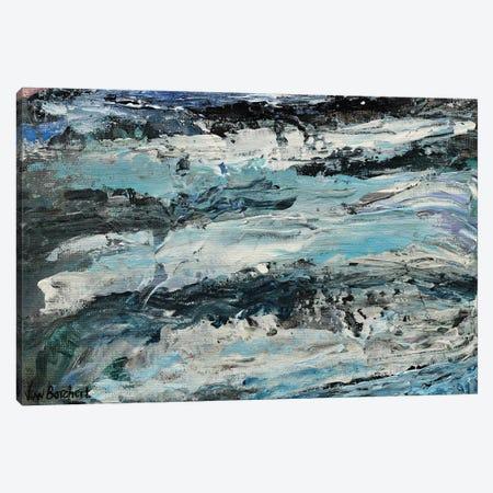 Abstract Snow Mountains Canvas Print #VNB4} by Vian Borchert Canvas Art Print