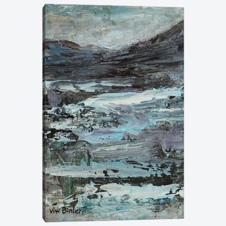 Purple White 3-Piece Canvas #VNB58} by Vian Borchert Art Print