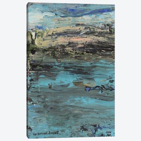Seascape 3-Piece Canvas #VNB60} by Vian Borchert Canvas Artwork