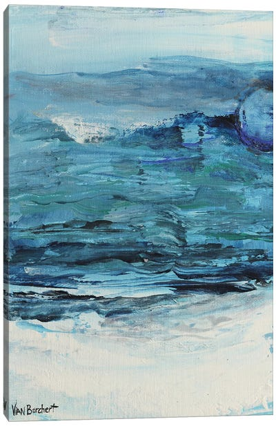 Summer Blue - Blue Moon Canvas Art Print
