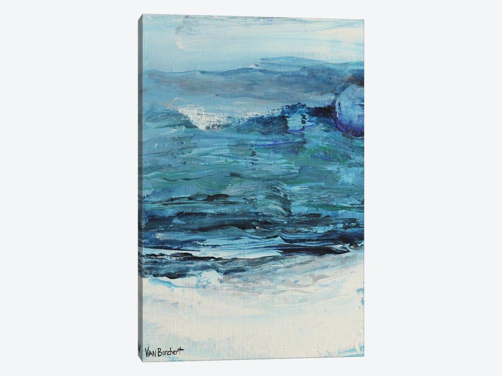 Summer Blue - Blue Moon by Vian Borchert 1-piece Art Print