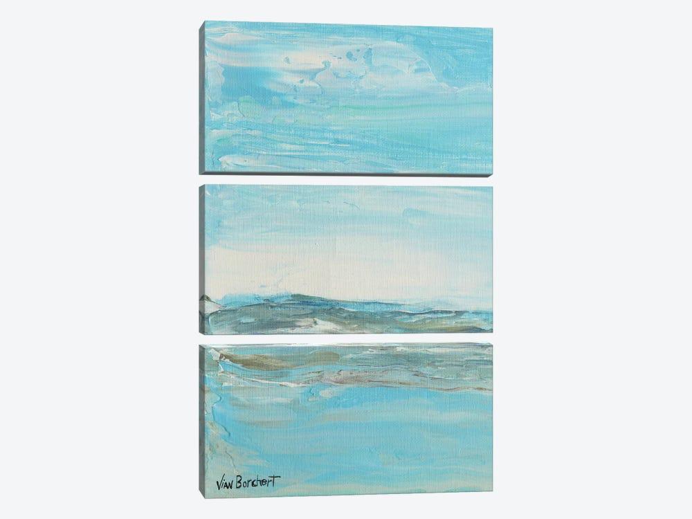 Summer Day by Vian Borchert 3-piece Canvas Artwork