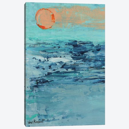 Summer Sunset Canvas Print #VNB64} by Vian Borchert Canvas Print