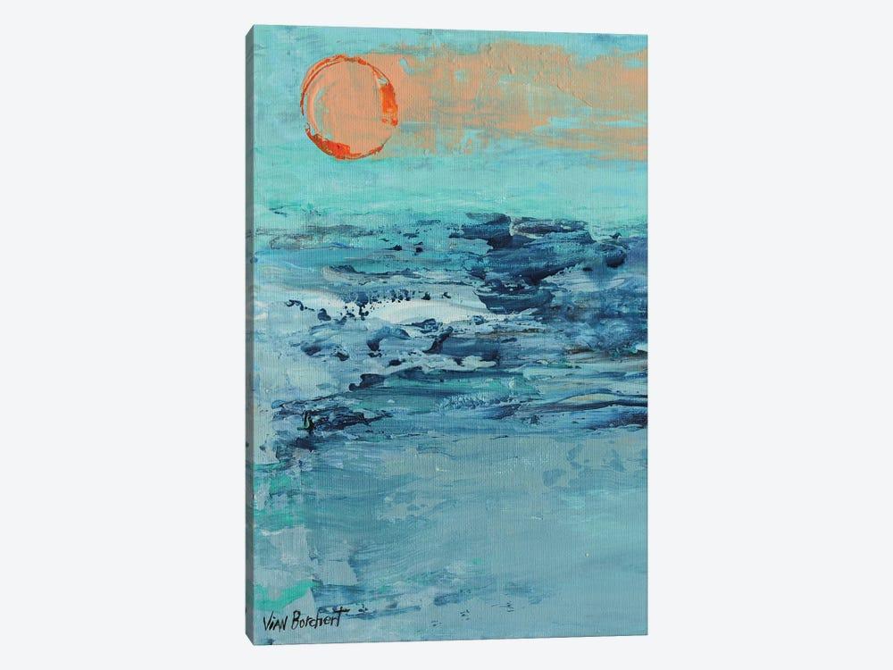 Summer Sunset by Vian Borchert 1-piece Art Print