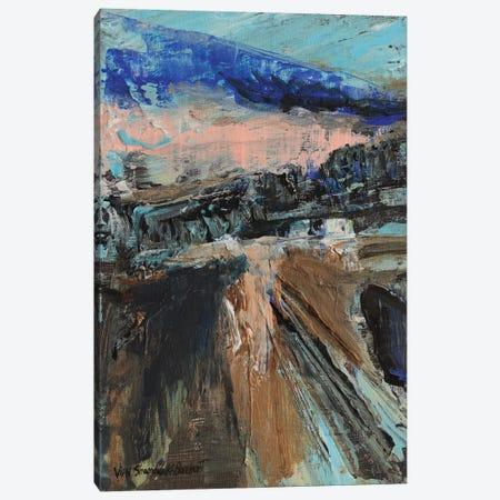 The Bridge Canvas Print #VNB66} by Vian Borchert Canvas Art Print