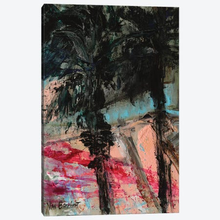Twilight Palm Trees Canvas Print #VNB70} by Vian Borchert Canvas Print