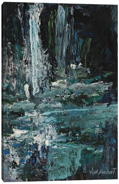 Viridian Green Canvas Art Print
