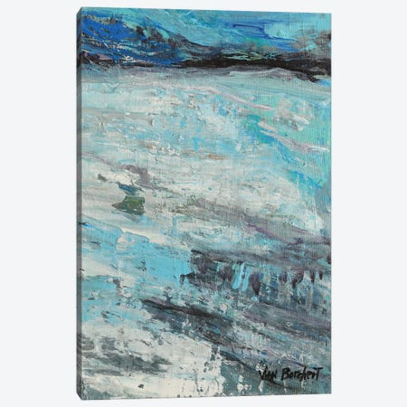 White Blue Canvas Print #VNB72} by Vian Borchert Canvas Print