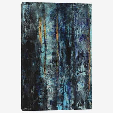 Blue Woods Canvas Print #VNB9} by Vian Borchert Canvas Artwork