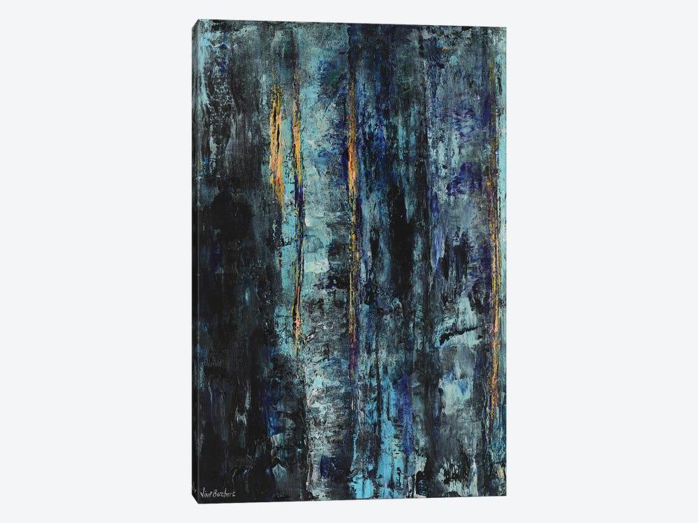 Blue Woods by Vian Borchert 1-piece Canvas Print