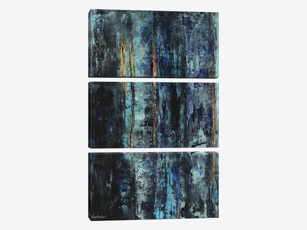 Blue Woods by Vian Borchert 3-piece Art Print