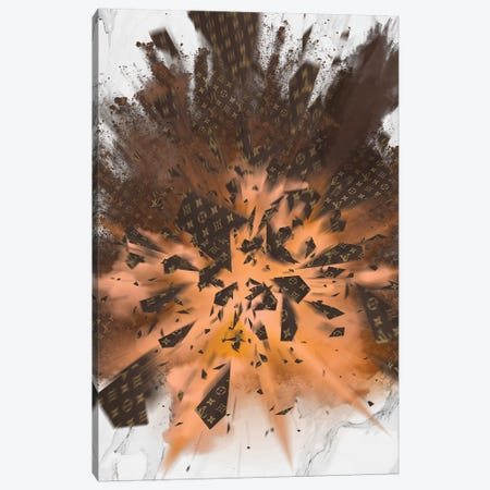 LV Grenade Explosion Canvas Print #VNC101} by Alexandre Venancio Canvas Print