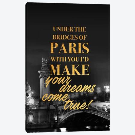 Bridges Of Paris Canvas Print #VNC108} by Alexandre Venancio Canvas Print