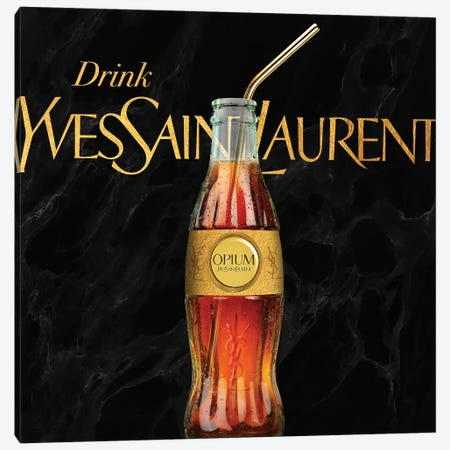 YSL Soda Canvas Print #VNC111} by Alexandre Venancio Canvas Art