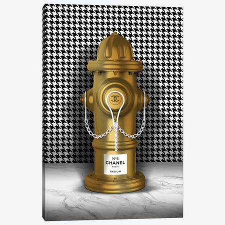 Hydrant Canvas Print #VNC113} by Alexandre Venancio Canvas Art