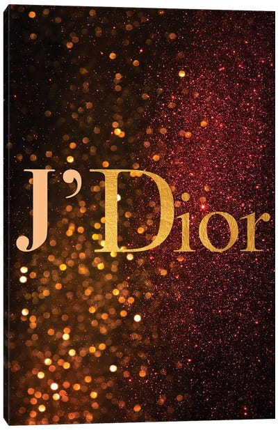J'Dior Canvas Art Print