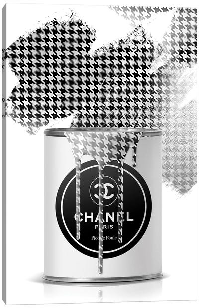 Chanel Paint Can Canvas Art Print