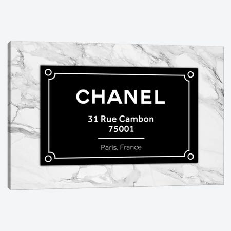 Chanel Paris Canvas Print #VNC119} by Alexandre Venancio Canvas Wall Art