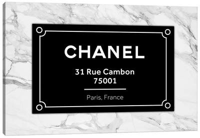Chanel Paris Canvas Art Print