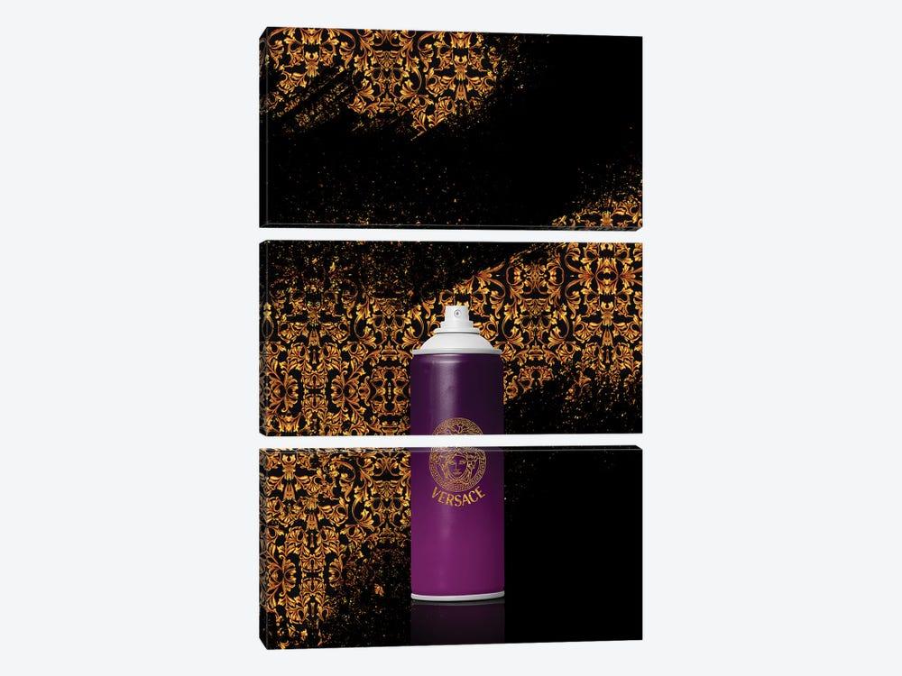 Spray Versace by Alexandre Venancio 3-piece Canvas Art