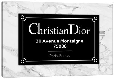 Dior Paris Canvas Art Print