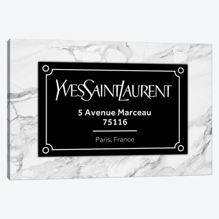 YSL Paris Canvas Print #VNC122} by Alexandre Venancio Canvas Art Print