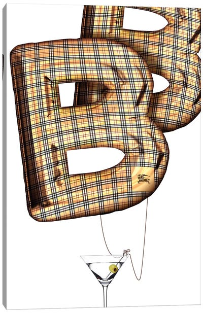 Burberry Balloon Canvas Art Print