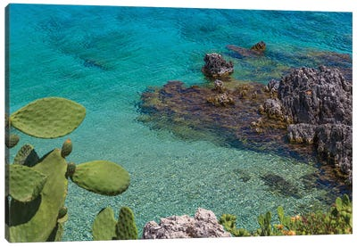 Greece Kefalonia Canvas Art Print