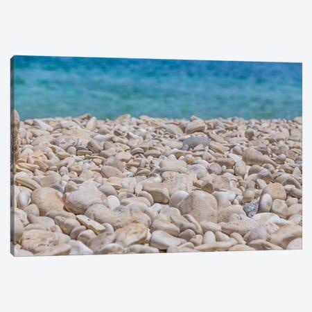 White Rocks And The Sea Canvas Print #VNC161} by Alexandre Venancio Canvas Print