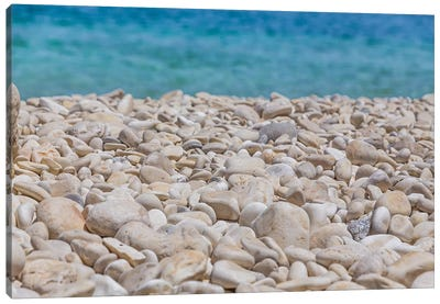 White Rocks And The Sea Canvas Art Print
