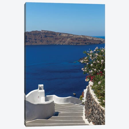 Santorini Canvas Print #VNC166} by Alexandre Venancio Canvas Artwork