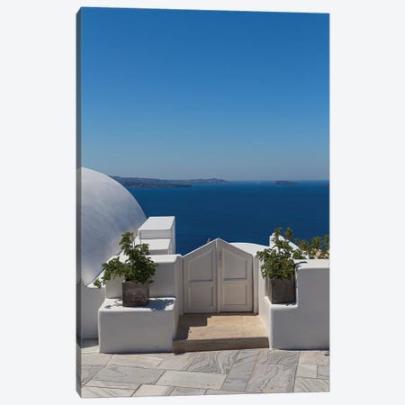 Door To The Mediterranean Canvas Print #VNC168} by Alexandre Venancio Canvas Print