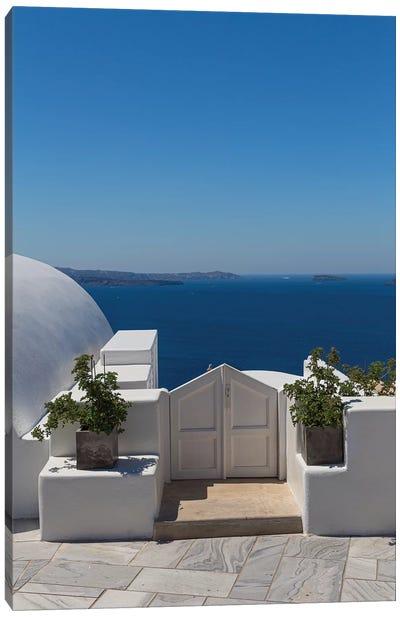 Door To The Mediterranean Canvas Art Print