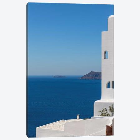 Santorini And The Mediterranean Canvas Print #VNC170} by Alexandre Venancio Canvas Art