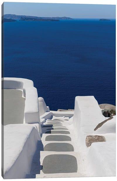 View From Santorini Canvas Art Print