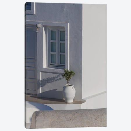 A Home In Santorini Canvas Print #VNC176} by Alexandre Venancio Canvas Art Print