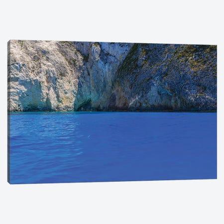 Zakynthos' Blue Canvas Print #VNC182} by Alexandre Venancio Canvas Art Print